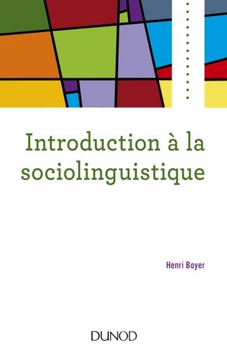 Boyer Introduction à la sociolinguistique